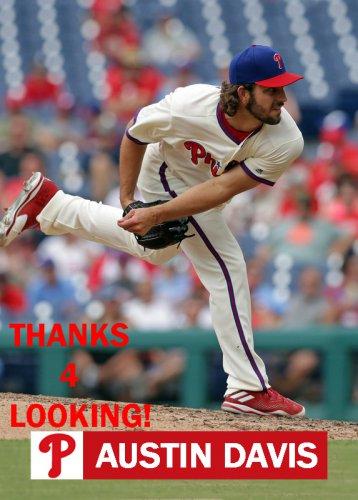 Austin Davis 2018 Philadelphia Phillies Baseball Card