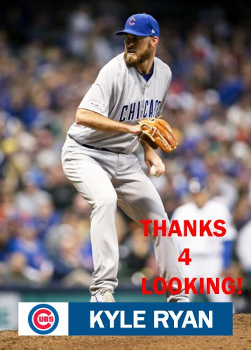 Kyle Ryan 2019 Chicago Cubs Baseball Card