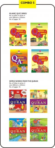 Islamic quiz series and simple words from The Quran