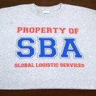 SBA GREY T-SHIRT - 4-XL ONLY!