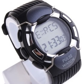 Calorie + Pulse Digital Watch with EL Backlight and Timer Alarm