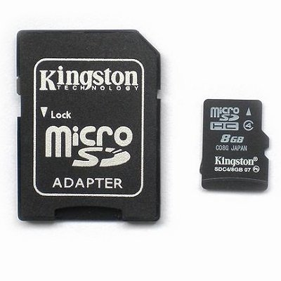 8GB Kingston Micro-SDHC TF Card