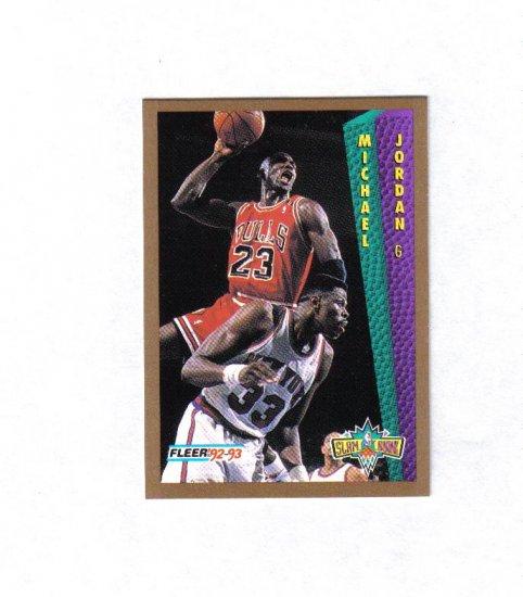 MICHAEL JORDAN 92-93 FLEER SLAM DUNK #273