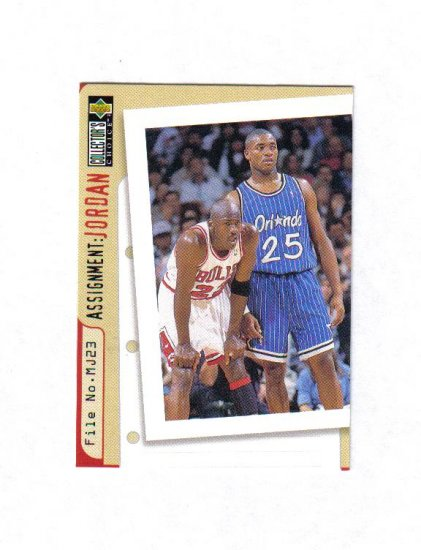MICHAEL JORDAN 96-97 COLLECTORS CHOICE #362