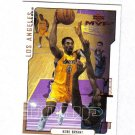 KOBE BRYANT 00-01 COLLECTORS CHOICE #77