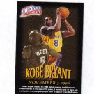 KOBE BRYANT 97-98 FLEER MILLION DOLLAR MOMENTS #31
