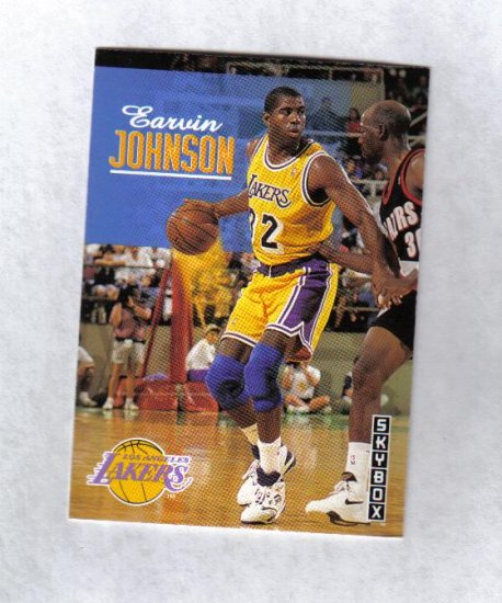 MAGIC JOHNSON 92-93 SKYBOX #358