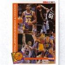 MAGIC JOHNSON / DAVID ROBINSON / JOHN STOCKTON / PATRICK EWING 92-93 HOOPS TRIVIA #485