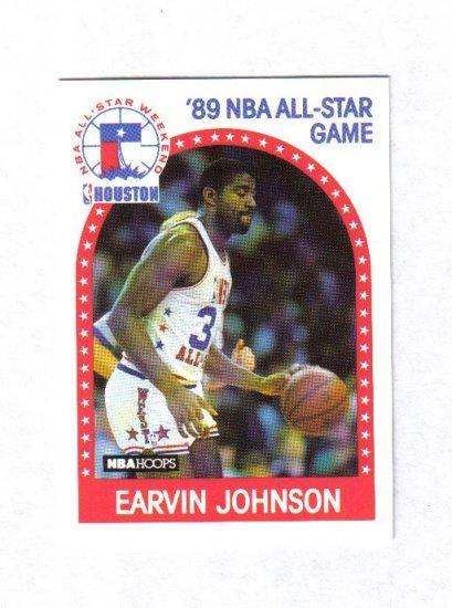 MAGIC JOHNSON 89-90 HOOPS ALL STAR #166