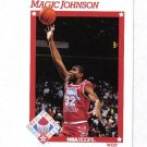 MAGIC JOHNSON 91-92 HOOPS ALL STAR #266