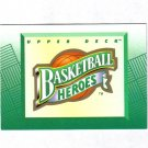 LARRY BIRD 92-93 UPPER DECK BASKETBALL HEROES HEADER #NNO