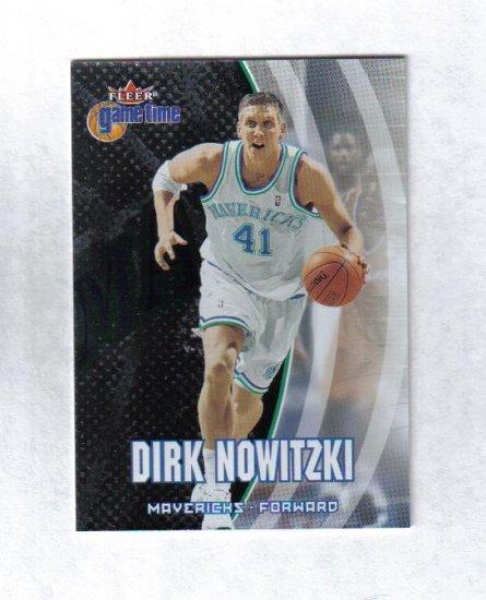 DIRK NOWITZKI 00-01 FLEER GAME TIME #20