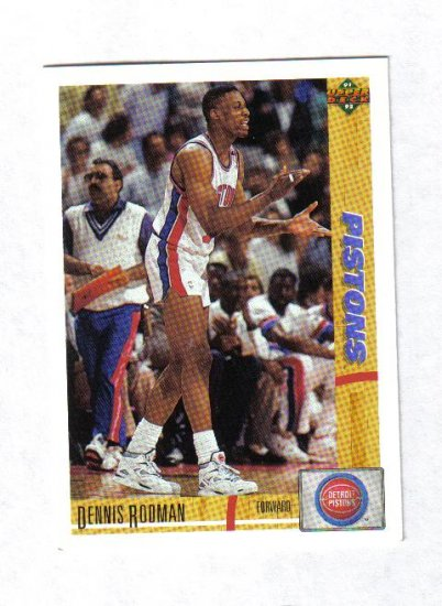 DENNIS RODMAN 91-92 UPPER DECK #185