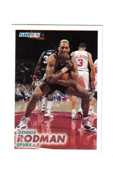 DENNIS RODMAN 93-94 FLEER #378