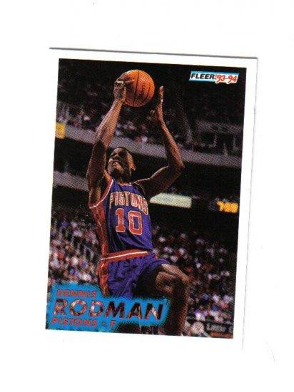 DENNIS RODMAN 93-94 FLEER #64