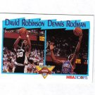 DENNIS RODMAN / DAVID ROBINSON 91-92 HOOPS #311