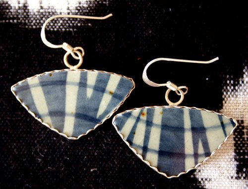 Style EP2  Sushi Plate Earrings
