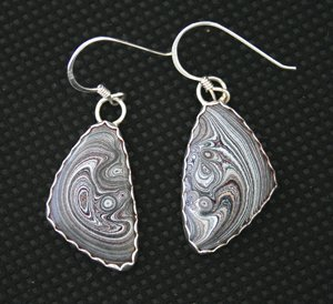 Style PE1 Auto Paint Earrings