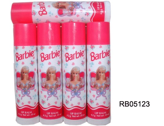 Avon limited BARBIE LIP BALM FULL SIZE Strawberry favor