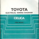 TOYOTA ELECTRICAL WIRING DIAGRAM CELICA 1984 MODEL