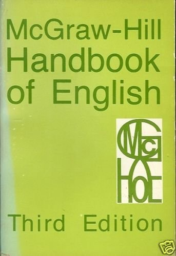HANDBOOK OF ENGLISH 3RD EDITION