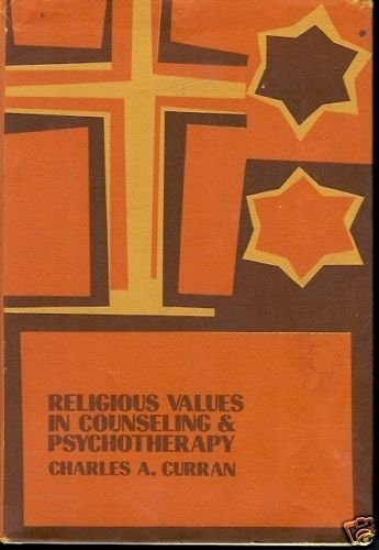 RELIGIOUS VALUES IN COUNSELING & PSYCHOTHERAPY 1969