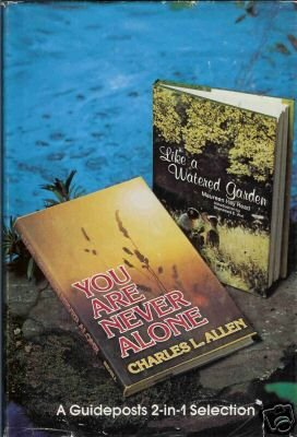 YOU ARE NEVER ALONE By Charles L. Allen 2 books in 1