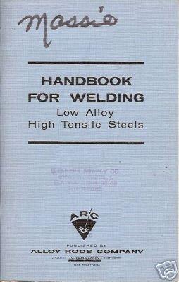 HANDBOOK FOR WELDING LOW ALLOY HIGH TENSILE STEELS