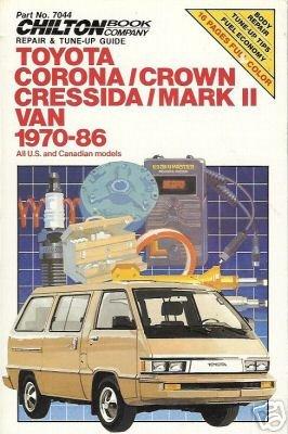 TOYOTA CORONA CROWN CRESSIDA MARK II VAN 1970-86 #7044