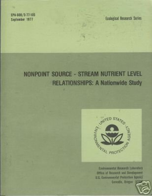 NONPOINT SOURCE STREAM NUTRIENT LEVEL RELATIONSHIPS EPA