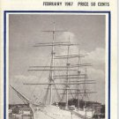 SEA BREEZES DIGEST OF SHIPS AND THE SEA FEB 1967