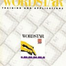 WORDSTAR TRAINING AND APPLICATIONS 5.5