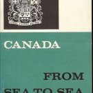 CANADA FROM SEA TO SEA
