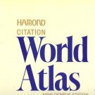HAMOND CITATION WORLD ATLAS NEW CENSUS EDITION