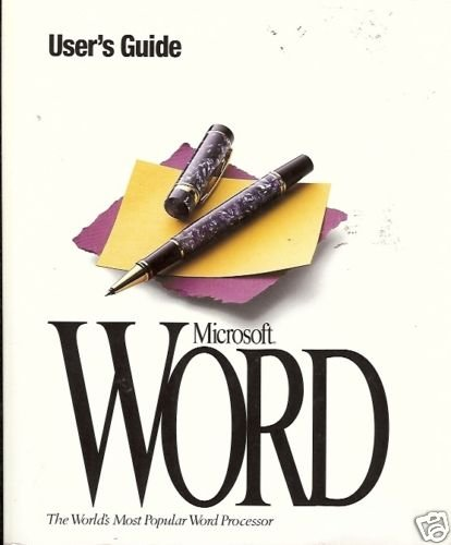 MICROSOFT WORD THE WORLD'S MOST POPULAR WORD PROCESSOR
