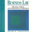 BUSINESS LAW SECOND EDITION Henry Cheeseman 1995