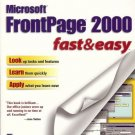 MICROSOFT FRONTPAGES 2000 FAST&EASY COLETTA WITHERSPOON