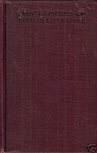MASTERPIECES OF BRITISH LITERATURE 1895