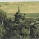 CASTLE ROCK NEAR WINONA MINN MINNESOTA RPPC
