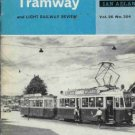 MODERN TRAMWAY AND LIGHT RAILWAY REVIEW 1963