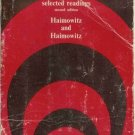 HUMAN DEVELOPMENT selected readings  By Haimowitz