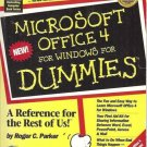 MICROSOFT OFFICE 4 FOR WINDOWS FOR DUMMIES