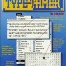 TYPE TAMER  user's guide version 1.0 for Macintosh
