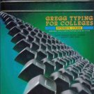 GREGG TYPING FOR COLLEGES intensive course