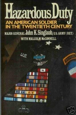 HAZARDOUS DUTY an american soldier in the twentieth cen