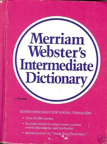 MERRIAM WEBSTER'S DICTIONARY