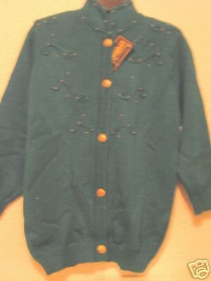 ELEGANT SWEATER GREEN COLOR, NEW,