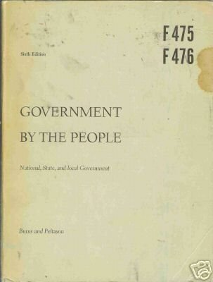 GOVERNMENT BY THE PEOPLE national, state, and local gov