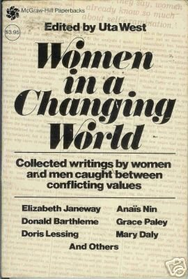 WOMEN IN A CHANGING WORLD By Uta West