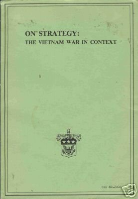 ON STRATEGY the vietnam war in context